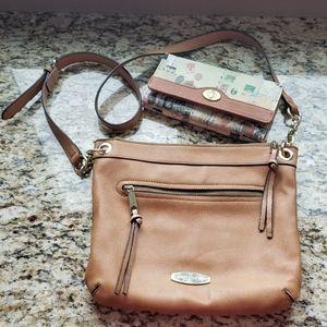 Liz Claiborne Handbag and Wallet